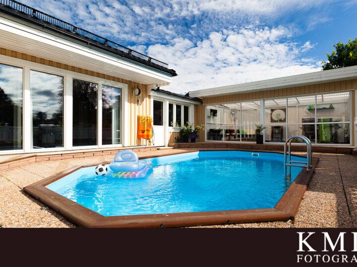 Din drömvilla med tillhörande pool?