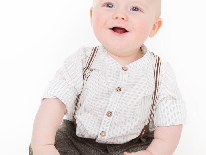 Barnfotografering med Axel