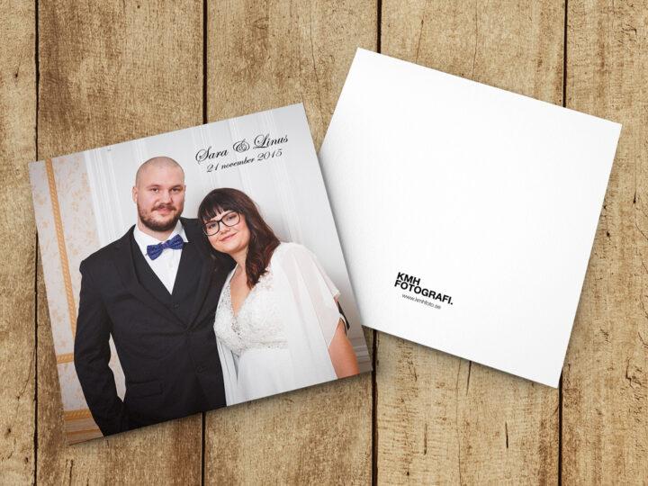 Skicka ett tackkort till dina bröllopsgäster